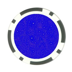 Awesome Allover Stars 01f Poker Chip Card Guard