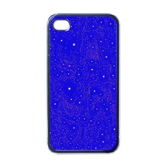 Awesome Allover Stars 01f Apple iPhone 4 Case (Black)