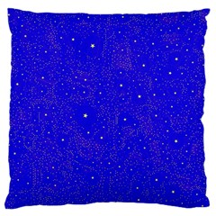 Awesome Allover Stars 01f Large Cushion Case (Two Sides)