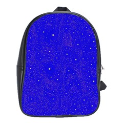 Awesome Allover Stars 01f School Bags (xl)