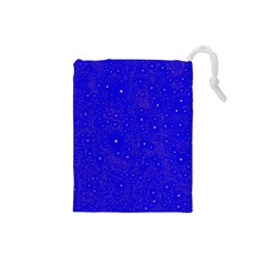 Awesome Allover Stars 01f Drawstring Pouches (Small)