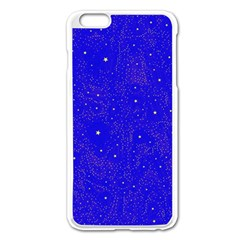 Awesome Allover Stars 01f Apple iPhone 6 Plus/6S Plus Enamel White Case
