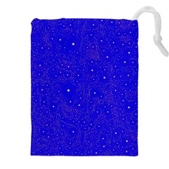 Awesome Allover Stars 01f Drawstring Pouches (XXL)
