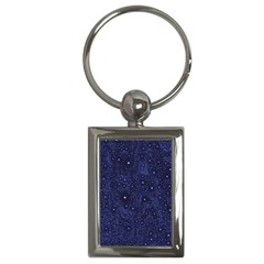 Awesome Allover Stars 01b Key Chains (Rectangle)