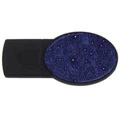 Awesome Allover Stars 01b USB Flash Drive Oval (1 GB)