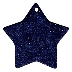 Awesome Allover Stars 01b Star Ornament (Two Sides)