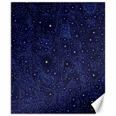 Awesome Allover Stars 01b Canvas 8  x 10
