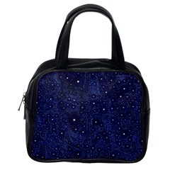 Awesome Allover Stars 01b Classic Handbags (One Side)