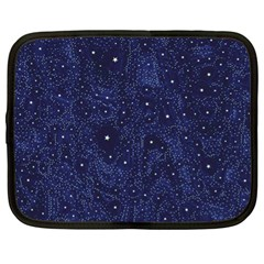 Awesome Allover Stars 01b Netbook Case (XL)