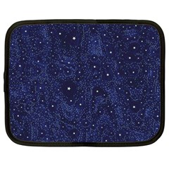 Awesome Allover Stars 01b Netbook Case (XXL)