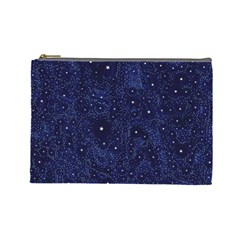 Awesome Allover Stars 01b Cosmetic Bag (Large)