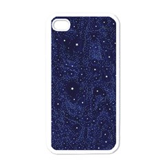 Awesome Allover Stars 01b Apple iPhone 4 Case (White)