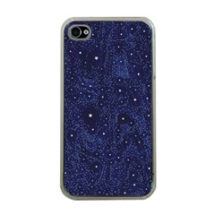 Awesome Allover Stars 01b Apple iPhone 4 Case (Clear)