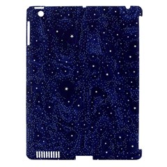 Awesome Allover Stars 01b Apple iPad 3/4 Hardshell Case (Compatible with Smart Cover)