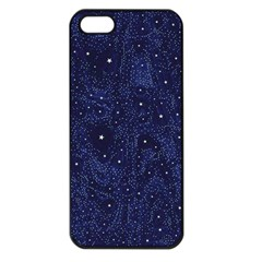 Awesome Allover Stars 01b Apple iPhone 5 Seamless Case (Black)