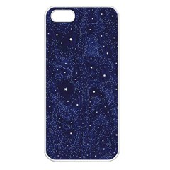 Awesome Allover Stars 01b Apple iPhone 5 Seamless Case (White)