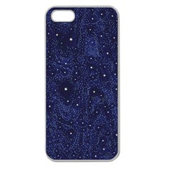 Awesome Allover Stars 01b Apple Seamless iPhone 5 Case (Clear)
