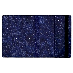 Awesome Allover Stars 01b Apple iPad 3/4 Flip Case