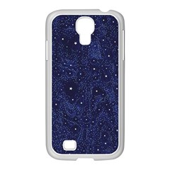 Awesome Allover Stars 01b Samsung GALAXY S4 I9500/ I9505 Case (White)
