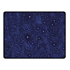 Awesome Allover Stars 01b Double Sided Fleece Blanket (Small)