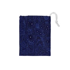 Awesome Allover Stars 01b Drawstring Pouches (Small)