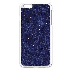 Awesome Allover Stars 01b Apple iPhone 6 Plus/6S Plus Enamel White Case