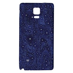Awesome Allover Stars 01b Galaxy Note 4 Back Case