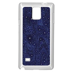 Awesome Allover Stars 01b Samsung Galaxy Note 4 Case (White)