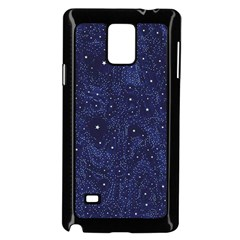 Awesome Allover Stars 01b Samsung Galaxy Note 4 Case (Black)