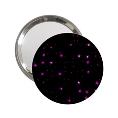 Awesome Allover Stars 02d 2.25  Handbag Mirrors