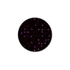 Awesome Allover Stars 02d Golf Ball Marker (10 pack)