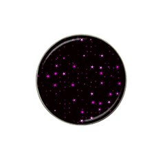 Awesome Allover Stars 02d Hat Clip Ball Marker