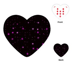 Awesome Allover Stars 02d Playing Cards (Heart)