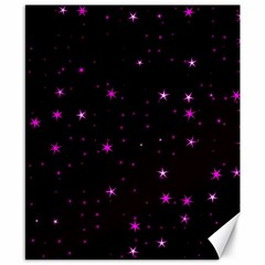 Awesome Allover Stars 02d Canvas 8  x 10