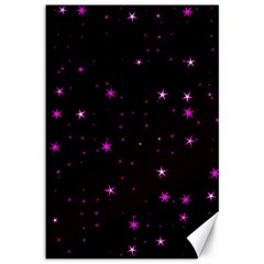 Awesome Allover Stars 02d Canvas 12  x 18