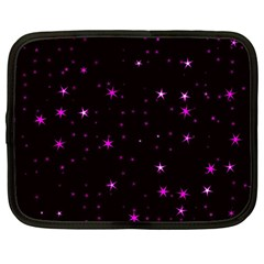 Awesome Allover Stars 02d Netbook Case (large)