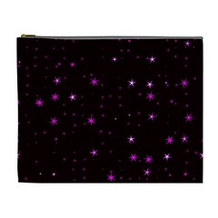 Awesome Allover Stars 02d Cosmetic Bag (XL)