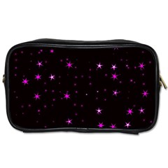 Awesome Allover Stars 02d Toiletries Bags 2 Side