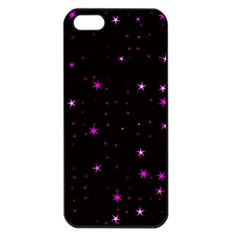 Awesome Allover Stars 02d Apple iPhone 5 Seamless Case (Black)