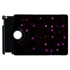 Awesome Allover Stars 02d Apple iPad 2 Flip 360 Case