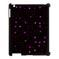 Awesome Allover Stars 02d Apple iPad 3/4 Case (Black)