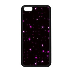 Awesome Allover Stars 02d Apple iPhone 5C Seamless Case (Black)