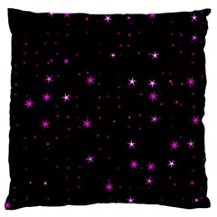 Awesome Allover Stars 02d Standard Flano Cushion Case (Two Sides)