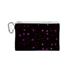 Awesome Allover Stars 02d Canvas Cosmetic Bag (S)
