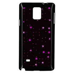 Awesome Allover Stars 02d Samsung Galaxy Note 4 Case (Black)