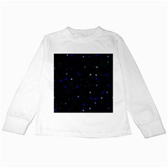 Awesome Allover Stars 02 Kids Long Sleeve T-Shirts
