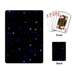 Awesome Allover Stars 02 Playing Card