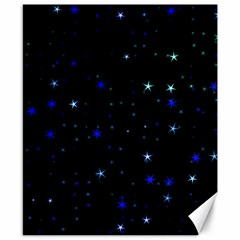 Awesome Allover Stars 02 Canvas 8  x 10