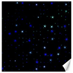 Awesome Allover Stars 02 Canvas 12  x 12