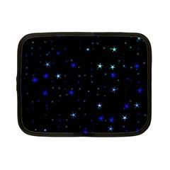 Awesome Allover Stars 02 Netbook Case (Small)